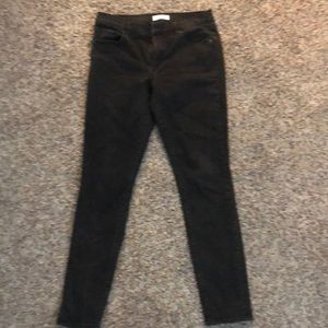 Faded Black Jeans
